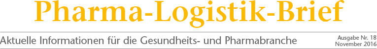 Pharma-Logistik-Brief Ausgabe 18