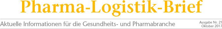 Med-X-Press - Pharma-Logistik-Brief Ausgabe 21