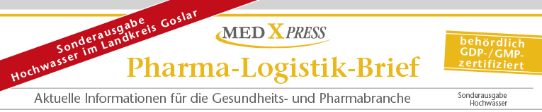 Med-X-Press - Pharma-Logistik-Brief Sonderausgabe