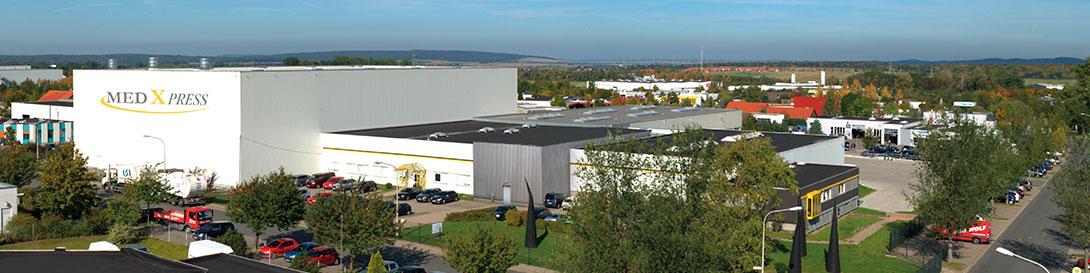 Med-X-Press Goslar -Pharmalogistik- und Outsourcing-Lösungen. GMP- und GDP-zertifiziert