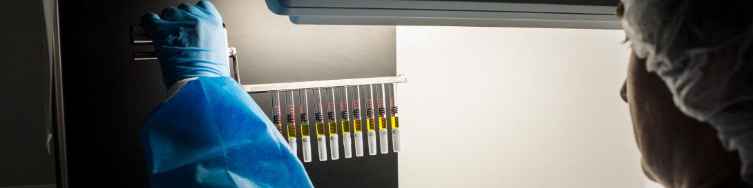 Der Goldstandard zur Prüfung der Injektionslösung und des Spritzenkörpers