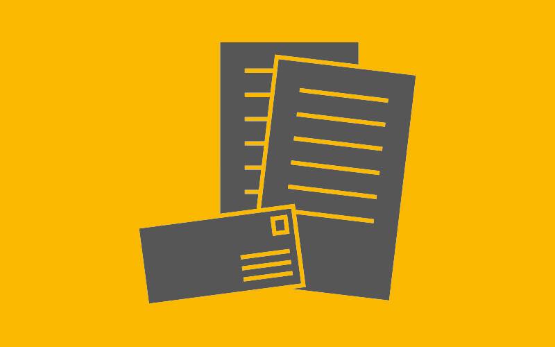 Mailing & sample dispatch