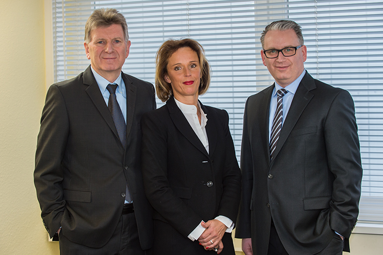 Karl-Heinu, Dorothea und Lars Dörhage, Med-X-Press